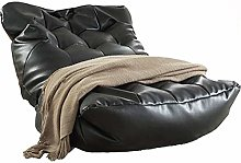 YWSZJ Leather Bean Bag Sofa Lounge Chair Cover No
