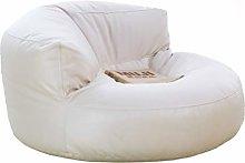 YWSZJ Leather Bean Bag Sofa Set Cover No Filler
