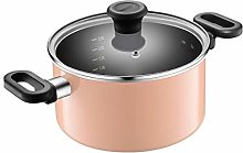 YWSZJ Non-Stick Pan, Double Ear Thick Soup Pot