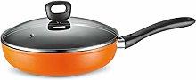 YWSZJ Nonstick Ceramic Copper Frying Pan: Non