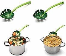 YWT Leaves Creative Spaghetti Colander Plastic