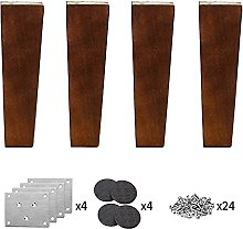 YWTT Furniture Legs in Wood, Replacement Legs for
