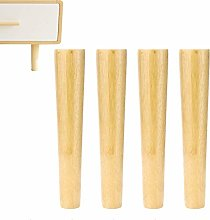 YWTT Furniture Legs Legs for Wooden conical Wooden
