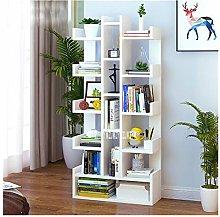 YWYW Bookcase Floor Creative Bookshelf Simple
