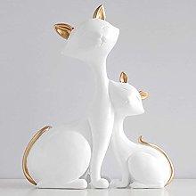 YWYW Cat Desk Decor Item Art Ornaments Room