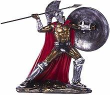 YWYW European Ornaments Retro Spartan Sculpture