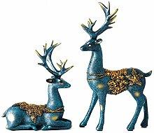YWYW Resin Art Ornaments Desktop Decorative Modern