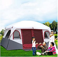 YXCKG 8-12 Person Tent, 2 Bedroom Family Tent,