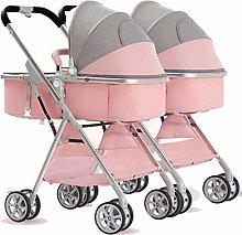 YXCKG Double Stroller   Lightweight Double Pram