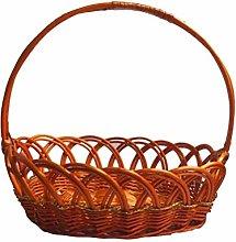 YXDEW Simple Woven Storage Basket, Shopping