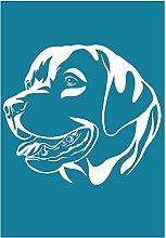 Yxinghai Labrador Dog Self Adhesive Silk Screen