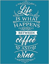 Yxinghai, Life is What Happens Between Coffee and