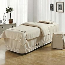 YXLHJ Premium Beauty Bed Cover,massage Table Skirt