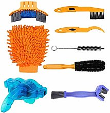 YXLM 8 in 1 Bike Cleaning Kit, Cleaning Brush,