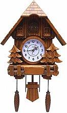 YXMxxm Cuckoo Clock Black Forest House Wall Clock