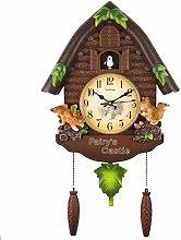 YXMxxm Retro Vintage Wood Cuckoo Clock Hanging