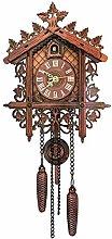 yxx Cuckoo Clock, Chalet-Style Wooden Cuckoo