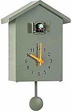 yxx Cuckoo Clock, Minimalist Modern Design Wall