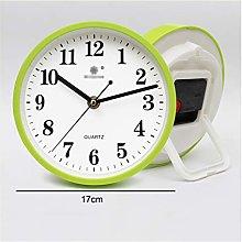 Yxx max -Bracket clock Desk Clock, 17 Cm Round