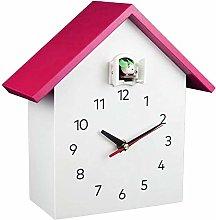 yxx Modern Bird Cuckoo Quartz Wall Clock Home