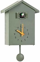 yxx Modern Cuckoo Clock, Bird Song Glockenspiel