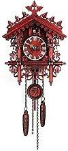 yxx Wood Cuckoo Clock,Handcrafted Wood Cuckoo