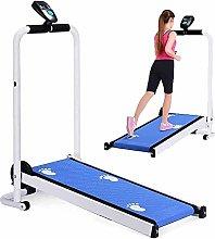 YXY Fitness Folding Treadmill with Wheels,