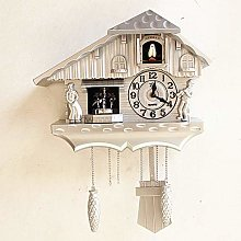 YXZN Europe cuckoo clock bird singing wall