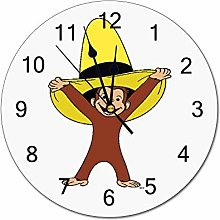 YY-one Decorative Wall Clock Funky Curious George