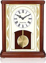YYAI-HHJU Antique Clock Vintage Table Clock Wall