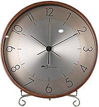 YYAI-HHJU Fireplace Clock With Aluminum Dial