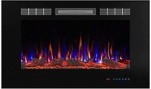YYAI-HHJU Fireplace Electric Wall Mounting