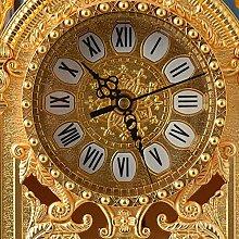YYAI-HHJU Stable Wall Clock With Transparent Dial