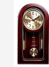 YYAI-HHJU Vintage Fireplace Clock With Pendulum