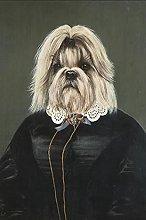 YYAYA.DS Print on canvas wall art Abstract Mr. Dog