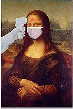 YYAYA.DS Print on canvas wall art Spoof Famous
