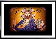 YYAYA.DS Wall Art Prints Jesus Christ Shining