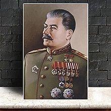 YYAYA.DS Wall Art Prints Joseph Stalin Portrait