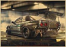 YYAYA.DS Wall Art Prints Need for Speed Classic