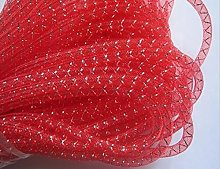 YYCRAFT 13.5 Metres(15y) Solid Mesh Tube For Craft