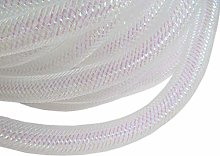 YYCRAFT One Roll 20 Yards Solid Mesh Tube Deco