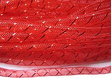 YYCRAFT One Roll 30 Yards Mesh Tube for Craft Deco