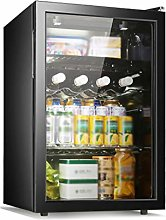 YYDD Beverage Refrigerator and Cooler - 80L, 37DB,