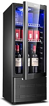 YYDD Red Wine Cabinet Fridge Home Ice Bar -