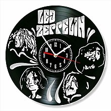 YYIFAN 12 Inch Led Zeppelin Clock Vinyl Clock,