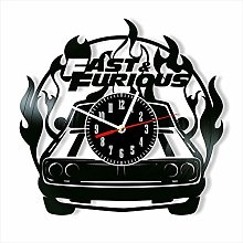 YYIFAN 12 Inch Vinyl Record Wall Clock Fast and