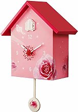 YYIFAN Cuckoo Clock Large Birdhouse, Modern Simple
