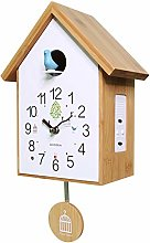 YYIFAN Cuckoo Clock Modern Simple Design,