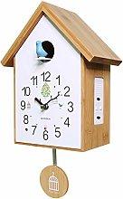 YYIFAN Cuckoo Clock Modern Simple Design,