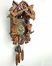 YYIFAN Cuckoo Clock Pendulum Wild Animals Virgin